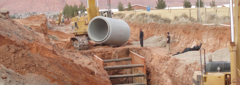 Central Ivins Storm Drain Project